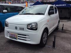 沖縄の中古車 スズキ アルト 車両価格 75万円 リ済別 平成28年 13K スペリアホワイト