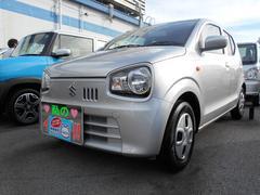 沖縄の中古車 スズキ アルト 車両価格 82万円 リ済別 平成28年 0.2万K シルキーシルバーメタリック