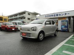 沖縄の中古車 スズキ アルト 車両価格 84万円 リ済別 平成28年 0.5万K シルキーシルバーメタリック