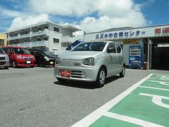 沖縄の中古車 スズキ アルト 車両価格 74万円 リ済別 平成28年 19K シルキーシルバーメタリック
