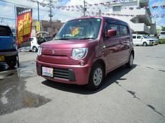 沖縄の中古車 スズキ MRワゴン 車両価格 73万円 リ済別 平成25年 2.3万K カシスピンクパールメタリック