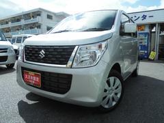 沖縄の中古車 スズキ ワゴンR 車両価格 93万円 リ済別 平成28年 1.2万K シルキーシルバーメタリック