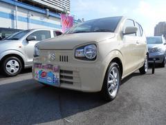 沖縄の中古車 スズキ アルト 車両価格 95万円 リ済別 平成27年 0.5万K シフォンアイボリーメタリック