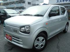 沖縄の中古車 スズキ アルト 車両価格 74万円 リ済別 平成29年 0.4万K シルキーシルバーメタリック