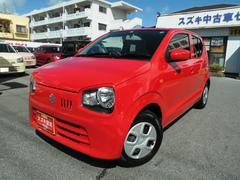 沖縄の中古車 スズキ アルト 車両価格 84万円 リ済別 平成28年 1.1万K ピュアレッド