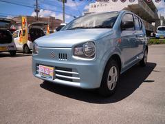 沖縄の中古車 スズキ アルト 車両価格 68万円 リ済別 平成28年 0.6万K フィズブルーパールメタリック
