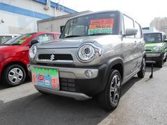 沖縄の中古車 スズキ ハスラー 車両価格 132万円 リ済別 平成28年 1.0万K スチールシルバーメタリック