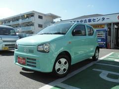 沖縄の中古車 スズキ アルト 車両価格 74万円 リ済別 平成29年 334K フレンチミントパールメタリック
