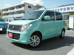 沖縄の中古車 スズキ ワゴンR 車両価格 105万円 リ済別 平成28年 0.7万K フレンチミントパールメタリック