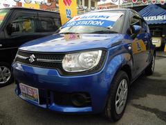 沖縄の中古車 スズキ イグニス 車両価格 109万円 リ済別 平成28年 1.2万K ブーストブルーパールメタリック