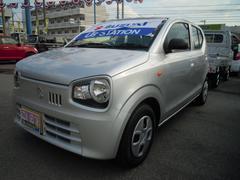 沖縄の中古車 スズキ アルト 車両価格 72万円 リ済別 平成28年 0.9万K シルキーシルバーメタリック