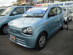 沖縄の中古車 スズキ アルト 車両価格 72万円 リ済別 平成28年 0.7万K フィズブルーパールメタリック