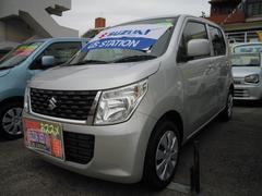 沖縄の中古車 スズキ ワゴンR 車両価格 93万円 リ済別 平成28年 0.9万K シルキーシルバーメタリック
