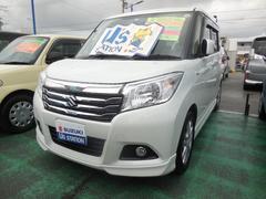 沖縄の中古車 スズキ ソリオ 車両価格 175万円 リ済別 平成29年 0.3万K ピュアホワイトパール