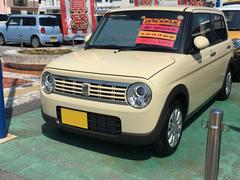 沖縄の中古車 スズキ アルトラパン 車両価格 123万円 リ済別 平成29年 0.4万K シフォンアイボリーメタリック