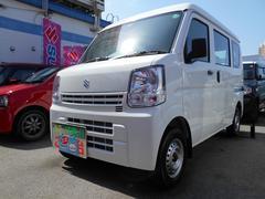 沖縄の中古車 スズキ エブリイ 車両価格 93万円 リ済別 平成29年 0.3万K スペリアホワイト