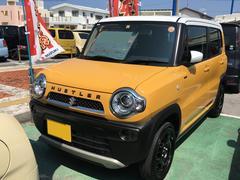 沖縄の中古車 スズキ ハスラー 車両価格 129万円 リ済別 平成29年 0.7万K アクティブイエロー ホワイト2トーンルーフ
