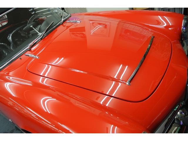数多のビンテージ・フェラーリを手掛けた弊社指定の塗装職人による渾身のペイントです!