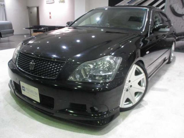トヨタ アスリート 黒革 SR 車高調 19アルミ マクレビ