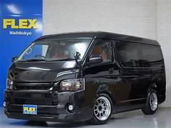 ハイエースワゴンGLブラックスポーツワゴンESSEX17インチアルミ