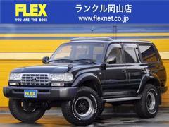 ランドクルーザー80純正ブラック 新品3インチアップ 買取車両!