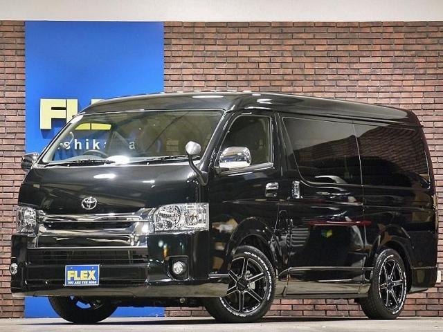 トヨタ 2.7 GL ロング ミドルルーフ 4WD シートアレンジR