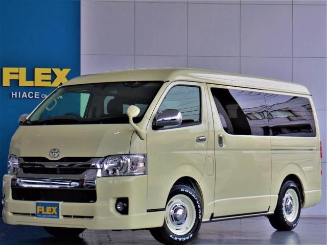 トヨタ 2.7 GL ロング ミドルルーフ 特設外装カラー 4WD