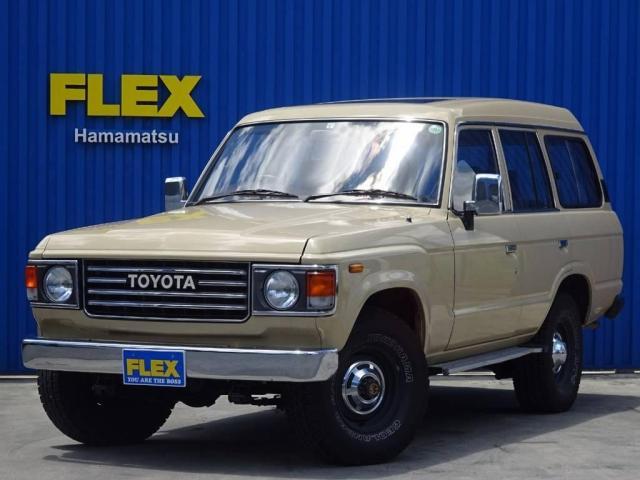 トヨタ 4.0 VX ハイルーフ 4WD 希少FJ62G