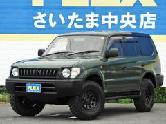 ランドクルーザープラド3.4 TZ 4WD アーミーグリーン 丸目ナロークラシック