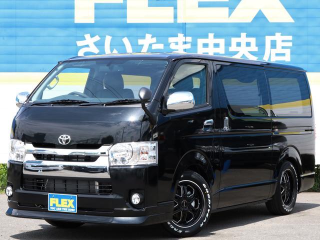 トヨタ S-GL FLEXカスタム ベットキット フルセグSDナビ