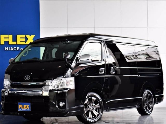 トヨタ 2.7 GL ロング 4WD ベッド内装架装 フローリング