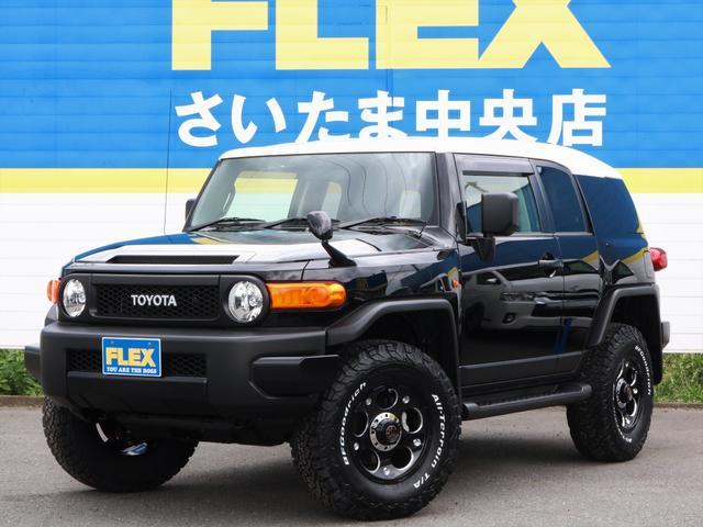 FJクルーザー(トヨタ)ブラックカラーパッケージ 中古車画像