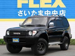 ランドクルーザープラド3.4 TX 4WD 丸目ブラック 買取直販車両