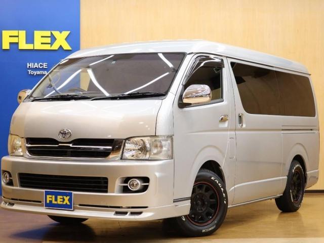 トヨタ 2.7 DX ロング ミドルルーフ 4WD エアロツアラー