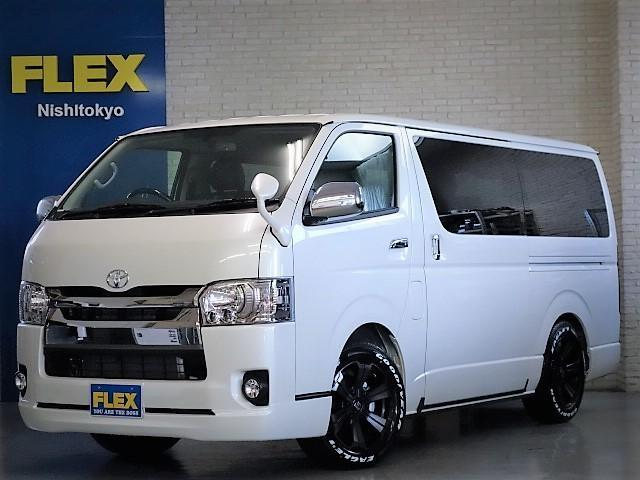 トヨタ ダークプライム3000ディーゼル4WD床張りベットKIT