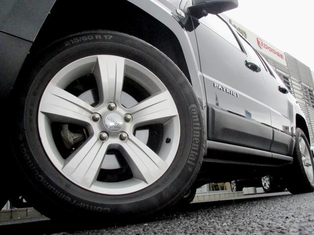 クライスラー・ジープ クライスラージープ パトリオット スポーツ 4WD 純正17インチAW サイドカメラ クルコン