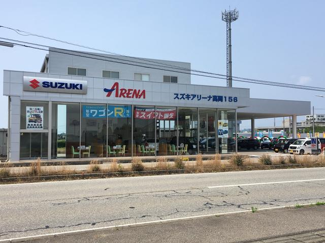 アリーナ高岡156は新車・中古車を取り扱うスズキ直営のお店です(^^)