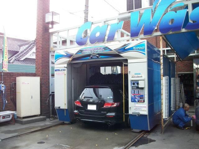最新鋭洗車機!!