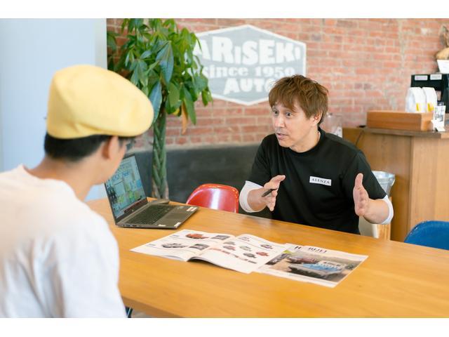 お車のご相談はもちろん保険のご相談もお気軽に。