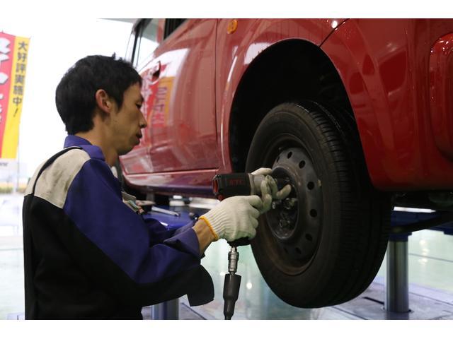 タイヤだけの交換サービスも行っております!