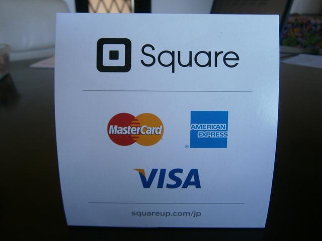 クレジットカード取り扱ってます!