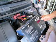 バッテリー、タイヤ点検、コンピュータ診断致します