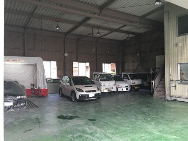 工場も広く設備も充実しています。
