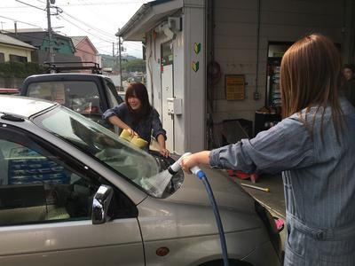 洗車・ルームクリーニングのサービスもあり