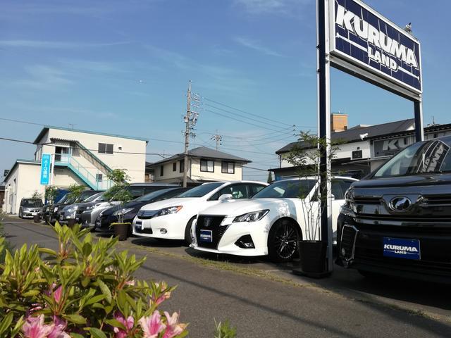 ミニバン1BOX4WD軽カーまで多数展示車あり。地元に根付いて早19年の老舗ショップとなりました。