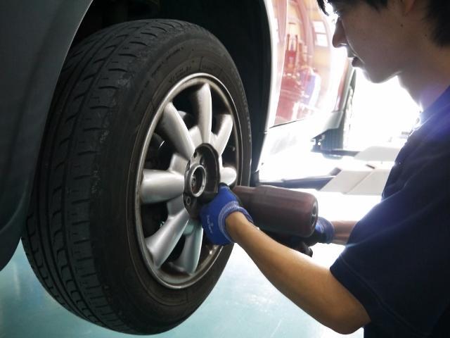 タイヤやオイル交換などの日常点検も大歓迎♪