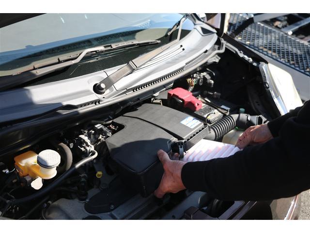 長く乗るためには、整備は重要ですね。当社はお客様のために、丁寧に整備させていただきます