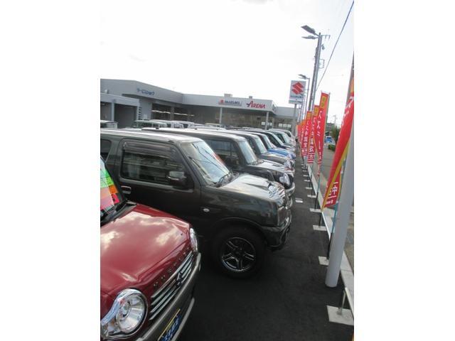 お値打ちなスズキの車がいっぱい!サービス工場も併設で安心!車検・点検等お任せ下さい。