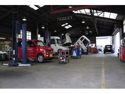 車検・整備に迅速で正確な作業をご提供!