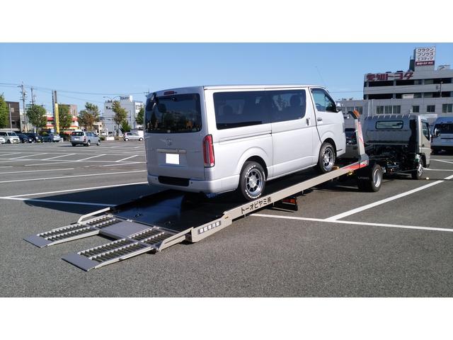 積載車も完備!遠方納車はもちろん、出張査定から、ご来店いただけない方の為に出張商談もしております!